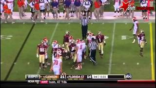 Christian Jones vs Clemson (2012)