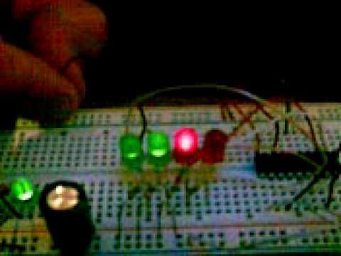 PIC Controlador motor paso a paso unipolar - Etapa de pruebas
