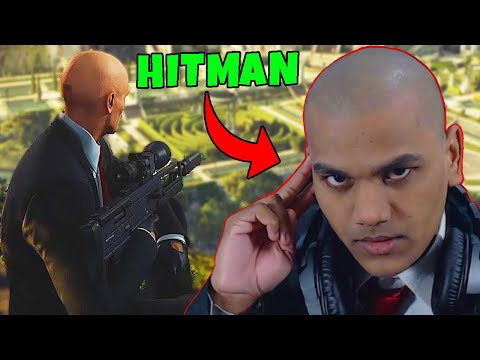 Hitman Plays Hitman (500 IQ Gameplay)