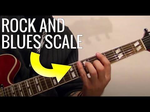 Rock/Blues Scale – Guitar Lesson by BobbyCrispy