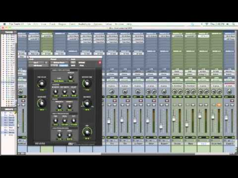 Mixing With Global Effects – TheRecordingRevolution.com