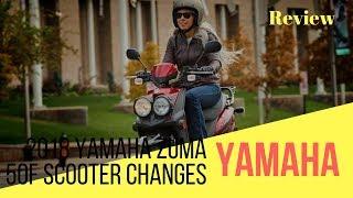 10. 2018 Yamaha Zuma 50F Scooter Changes   Motorcycle-Sport!