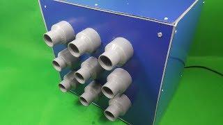 Hôm nay mình sẽ chế thử Quạt Làm Mát Sử Dụng Nguyên Lý Eco Cooler dùng ống nhựa PVC , nó có thể giảm đc 3-5 độ CTrong video mình chỉ thử, nên làm bé, các bạn có thể làm to hơn Kênh Sáng Tạo .COM Chúc các bạn thành công !!!