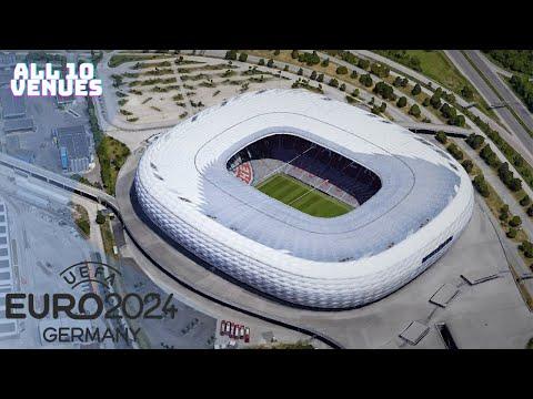 EURO 2024 Stadiums