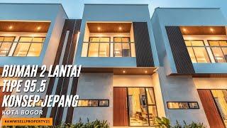 Video #AWWSELLPROPERTY21 - Dijual Rumah 2 Lantai Tipe 95.5 Konsep Jepang di Kota Bogor MP3, 3GP, MP4, WEBM, AVI, FLV Agustus 2019