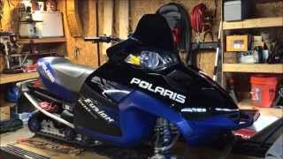 3. Polaris Heated Shield Install Fusion/IQ