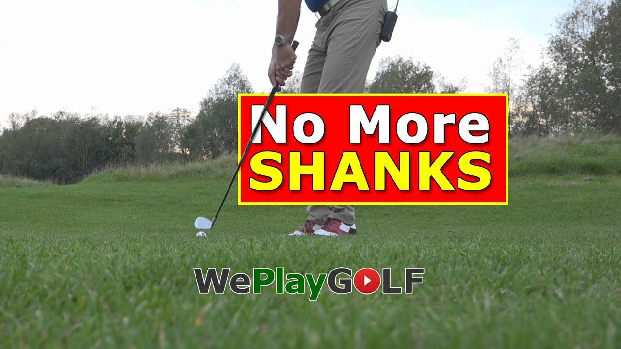 With this GOLF tip you will never SHANK again