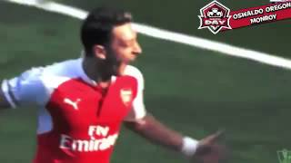Arsenal Vs Manchester United 3 0 All Goals Highlights 2015