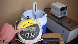 Thermoprobe Calibration TP7-D TP9-A Video