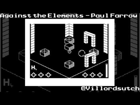 Against the Elements on the 16K ZX81 (Hi Res*) from Paul Farrow 2016