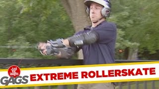 Rollerblades Turn Into Rockets !, Just for laughs, Just for laughs gags, Just for laughs 2015