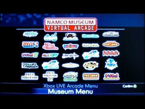 Namco - So many games on one disc! This collection was released for the Xbox 360 on November 4, 2008 in North America, May 15, 2009 in Europe, and June 3, 2009 in Au...