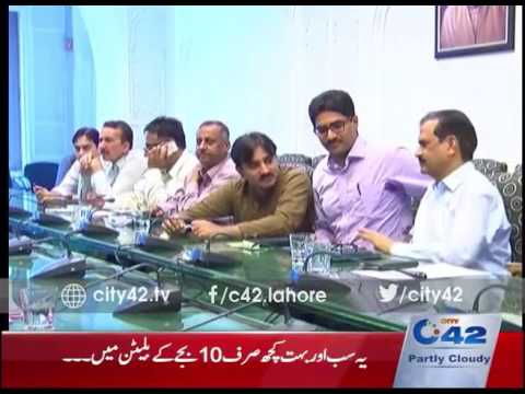DCO Muhammad Usman chaired meeting about Water Shortage