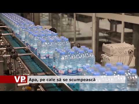 Apa, pe cale să se scumpească