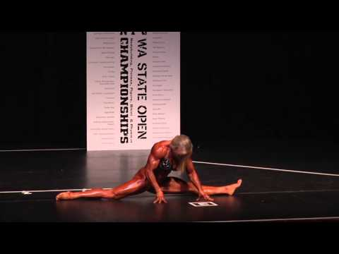 Lora Ottenad from the 2013 NPC Washington State Open