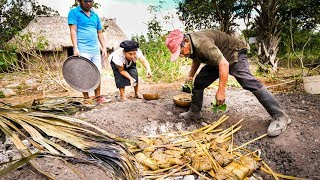 Video Ancient MAYAN FOOD - Jungle Cooking in MAYA VILLAGE in Quintana Roo, Mexico! MP3, 3GP, MP4, WEBM, AVI, FLV September 2019