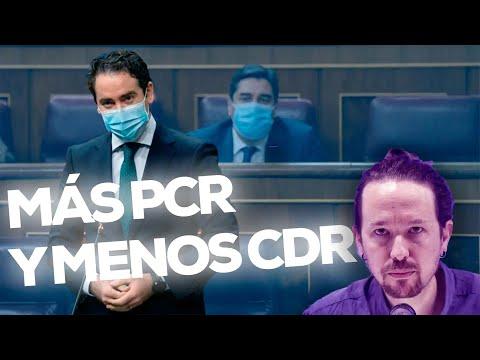 Más PCR y menos CDR