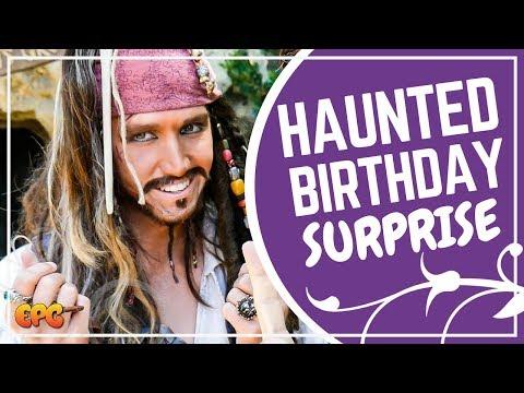 Disneyland Birthday w/ Jack Sparrow & A Haunted Pirate's Lair