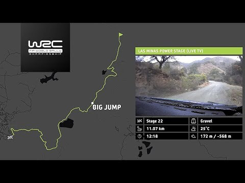 WRC - Rally Guanajuato México 2018: The 22 Stages