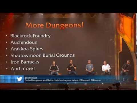 wow - The whole World of Warcraft: Warlords of Draenor panel from Blizzcon day 1. Like and subscribe! https://twitter.com/ZyfohLOL http://www.twitch.tv/zyfoh.