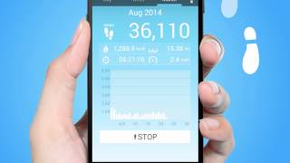 Pedometer YouTube video