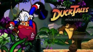 DuckTales: Remastered - Amazon & Transylvania gameplay with Capcom Unity