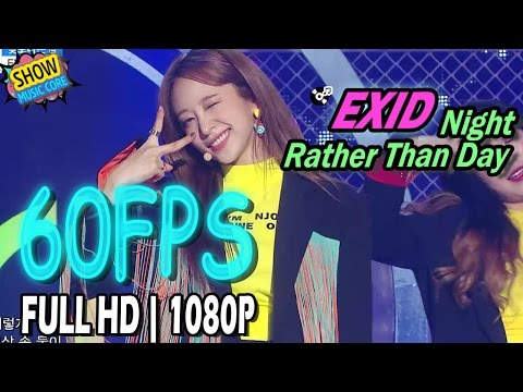 Video 60FPS 1080P | EXID - Night Rather Than Day, EXID - 낮보다는 밤 Show Music Core 20170415 download in MP3, 3GP, MP4, WEBM, AVI, FLV January 2017