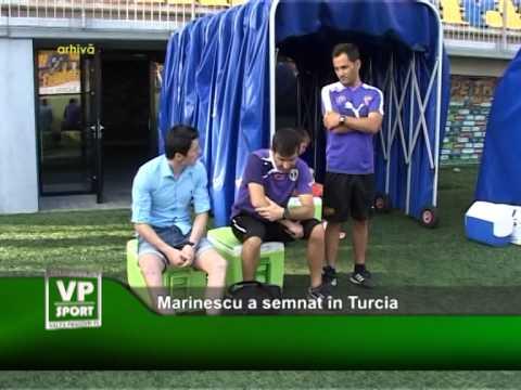 Marinescu a semnat în Turcia