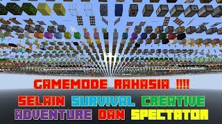"Video ""DEBUG MODE"" GameMode Rahasia Selain Survival Creative Adventure Spectator -  Minecraft Tutorial #2 MP3, 3GP, MP4, WEBM, AVI, FLV Maret 2018"