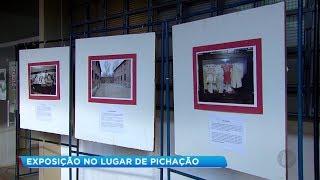 Após banheiro ser pichado com símbolo nazista, Unesp faz exposição para conscientizar alunos