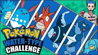 WATER POKÉMON CHALLENGE | Pokémon Type Naming Challenge by Ace Trainer Liam