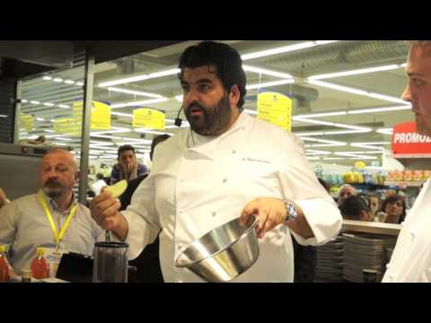 Cannavacciuolo prof di cucina per Tigros