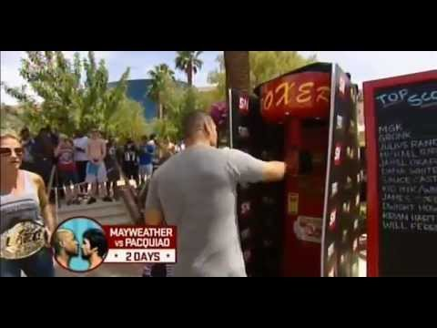 Punching power machine: Evander Holyfield vs Cain Velasquez