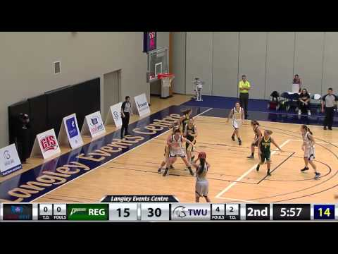 WBB vs. Regina - Jan. 9, 2015