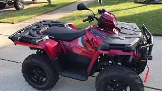 1. Polaris Sportsman 570 SP Review