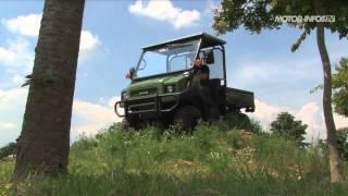 5. Essai Kawasaki Mule 4010 diesel