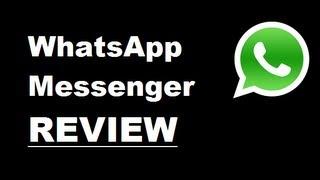 Video review of WhatsApp Messenger