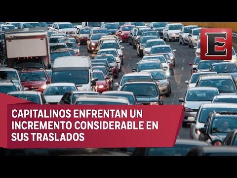 CDMX repite como la urbe con mayor tráfico a nivel mundial