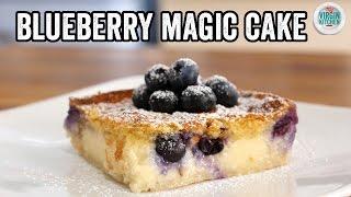 BLUEBERRY MAGIC CAKE by  My Virgin Kitchen