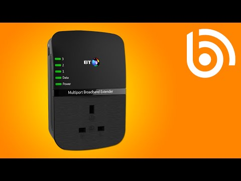 BT Broadband Extender Introduction