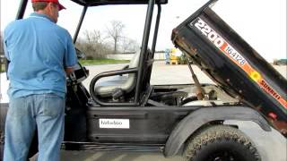 8. Sold! 2007 Bobcat 2200 4x4 Diesel Utility Cart ATV Electric Dump bidadoo.com