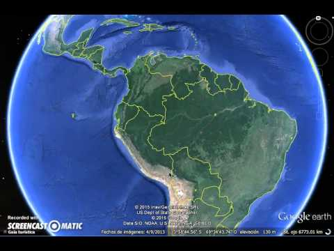Rivers in South America