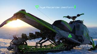 7. SledtraxTV - Review Arctic Cat Hardcore EVO