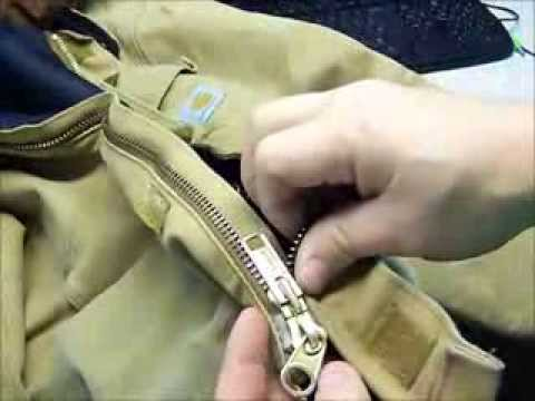 how to repair jacket