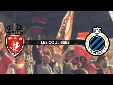 Royal Excel Mouscron - Club Bruges : les coulisses de la victoire (видео)