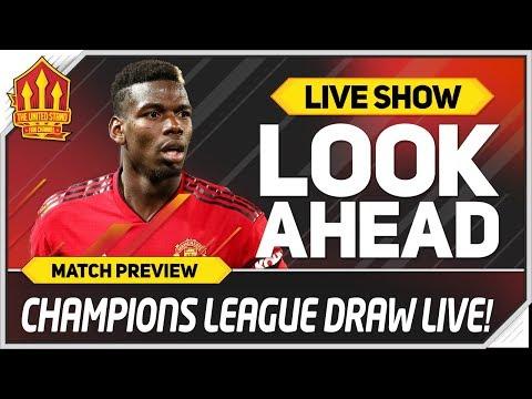 MAN UTD vs BARCELONA! UEFA CHAMPIONS LEAGUE DRAW LIVE React