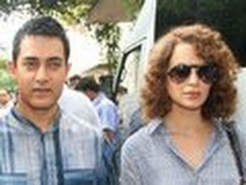 Kangana Ranaut WANTS Aamir Khan BADLY!