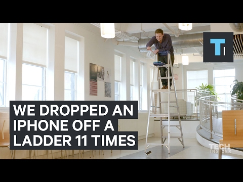 We tried to destroy an iPhone by dropping it off a ladder 11 times