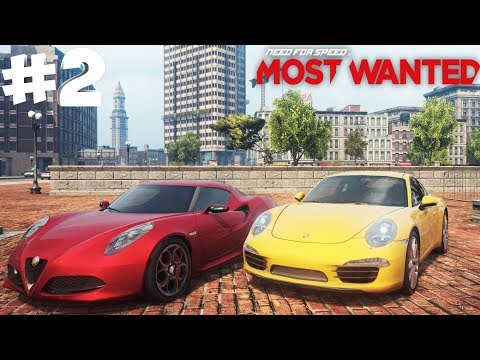 NFS Most Wanted   Победить и РАЗГРОМИТЬ Alfa Romeo 4C
