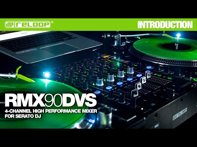 Reloop RMX-90 DVS - High Performance Club Mixer for Serato DJ